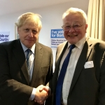 Chairman with Prime Minister, Boris Johnson